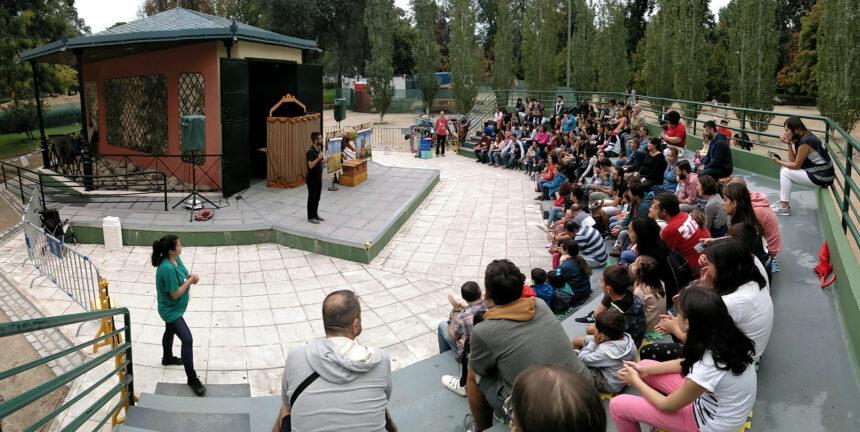 El fabuloso público del Teatro de Títeres de El Retiro